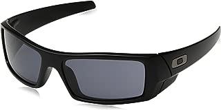 Oakley Gascan Sunglasses Matte Black with Warm Grey Lens 03-473