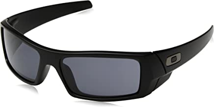 Oakley Gascan Sunglasses Matte Black with Warm Grey Lens 03-473