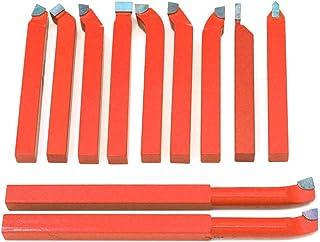 11 herramientas de corte de torno, punta de carburo de 8 mm