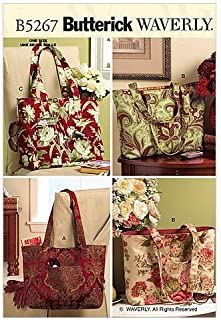 BUTTERICK PATTERNS B5267 Totes, One Size Only