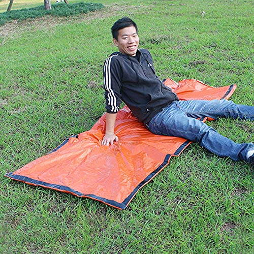 Camping CELINEZL Aotu AT9040 Type d'enveloppe de Camping en Plein air Sac de Couchage Thermique Premiers Soins pour Adulte, Taille: 213x91cm