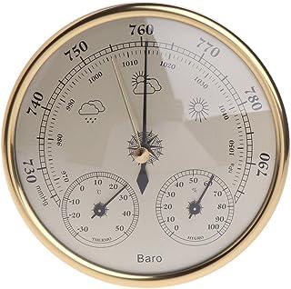 Haia7K4k murale Ménage Baromètre Thermomètre hygromètre station météo à suspendre