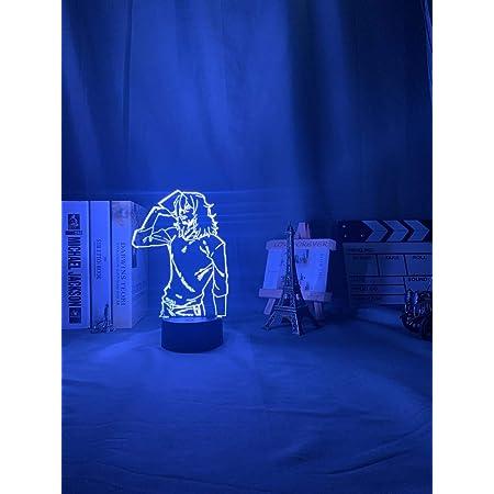 3D Lamp Anime My Hero Academia Shota Aizawa Light For Bedroom Decor Child Kids !