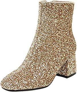 Best gold sparkly boots Reviews