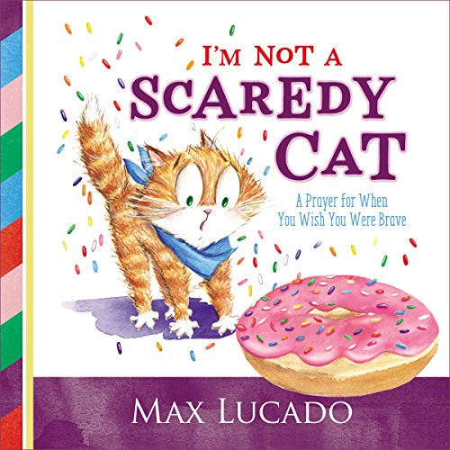 I'm Not a Scaredy Cat audiobook cover art