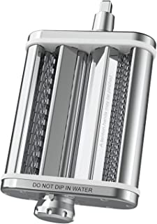 BAODAN Acessório de rolo de massa 3 em 1, acessório para máquina de massa para batedeira KitchenAid Stand Mixer, Premium S...