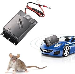 ZXX Appareil à ultrason anti-Souris pour Auto, Ultrasonique Economie d'énergie Unité de défense de Rongeur, Répulsifs anti-fouine pour automobile voiture