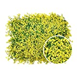 HivíFica Artificial Hoja Entrellis De Hoja, Puntamiento Ivy Flores Paneles De Cobada De Hoja, Cerca De Jardin De Privacidad La Verdad