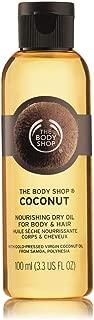 The Body Shop Coconut Nourishing Dry Oil for Body & Hair, 3.3 Fl. Oz.
