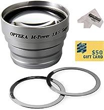 Opteka 3x Telephoto Converter Magnetic Magnet Lens for Sony CyberShot DSC-P5, DSC-P7, DSC-P8, DSC-P9, DSC-P10, DSC-P12, DS...
