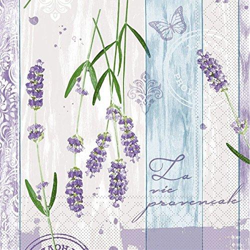 Sovie HORECA Tissue Serviette Lavinia | saugstarke und hochwertige Servietten für den Frühling | 33x33 cm | 100 Stück