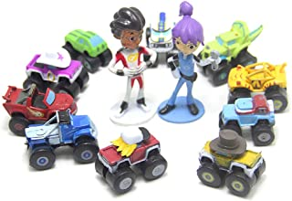 12 PCS Blaze And The Monster Machines Vehicle Action Figure Decoration Toys Gift