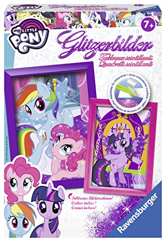 Ravensburger 18339 - Glitzerbilder - My little Pony