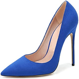 EDEFS - Scarpe col Tacco Donna - High Heel Pumps - Donna Tacco 12 CM - Tacchi a Spillo Donna Sexy
