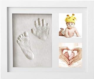 comprar comparacion Marco de Fotos para Bebé - Newlemo 3D Marco de Huellas para Niños - Regalos para Bebé Recién Nacido