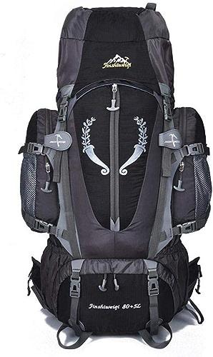 XMUEI Sac à Dos pour Alpinisme De Grande Capacité 80L étanche avec Support (Couleur   F)