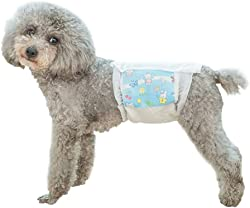 Yotaini Durable Strong Disposable Diapers, Especially Super Absorbent Leak-Proof Dog Trousers for Male Dogs