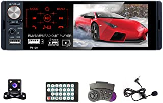 $52 » UNITOPSCI Car Stereo- Single Din 4.1 Inch Touch Screen Car Radio with Bluetooth Backup Camera Support Hands-Free Call Audi...
