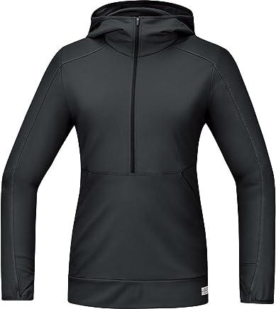 GORE RUNNING WEAR, Women's Hooded Running TShirt, Long Sleeved, Versatile, Warm, GORE Selected Fabrics, SHLAIR