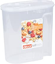 Décor 072071-004 Cereal Container, 5 L, Clear