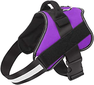 Best Bolux Dog Harness, No-Pull Reflective Breathable Adjustable Pet Vest with Handle for Outdoor Walking - No More Pulling, Tugging or Choking Review