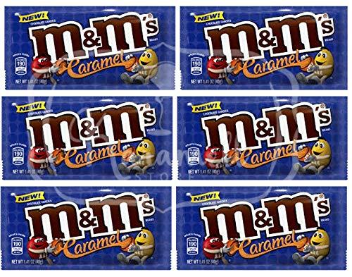 M&M's Caramel Chocolate Recheio Caramelo - ATACADO 6X - Importado USA