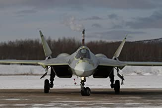 Gifts Delight Laminated 36x24 Poster: Sukhoi T-50 Fighter Jet Military Airplane Plane Stealth pak f-a Russian 36