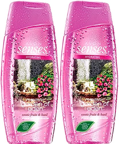 AVON Duschgel SENSES --- Romantic Garden of Eden --- 2x 250 ml
