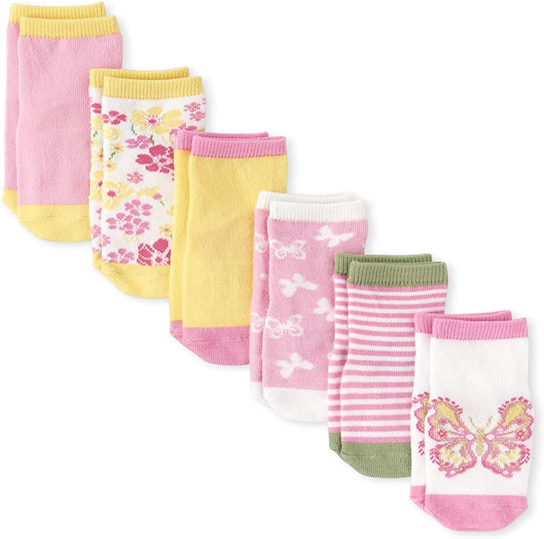 The Children's Place baby-girls Socks, Pack of Six