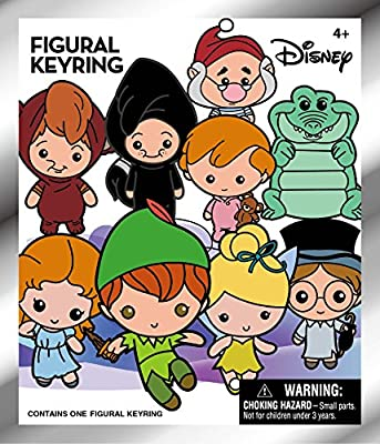 Disney Peter Pan 3D Collectible Key Ring Blind Bag Key Accessory