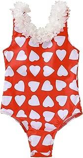 Toddler Kids Baby Girls Two Piece Swimsuit Set Cuekondy Love Heart Pineapple Print Bikini Beach Bathing Suit Swimwear