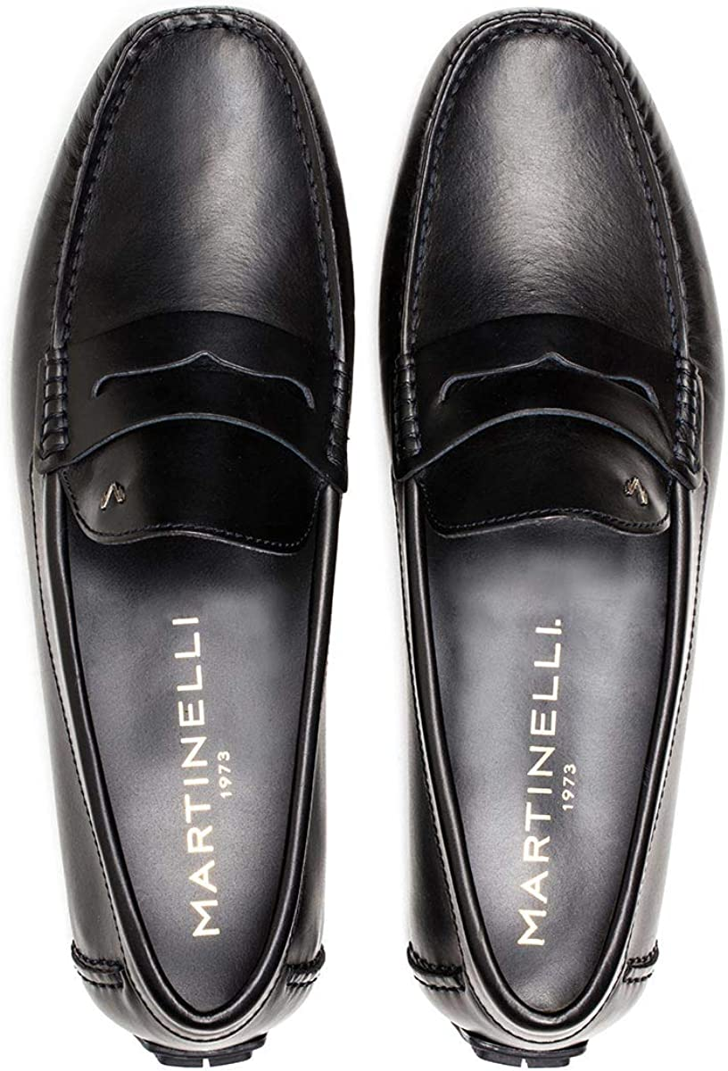 MARTINELLI Leather Loafers Pacific 1411 Marino