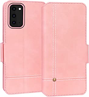 FYY Samsung S20 Case, Ultra Slim PU Leather Wallet Case Protective Cover with Card Holders Kickstand Flip Case for Samsung...