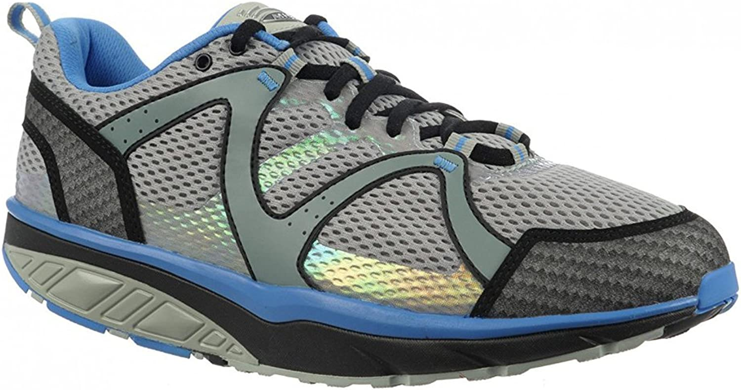 MBT Men's Sabra Trail 5 Lace Up, Pebble Grey Stone Grey Trail bluee