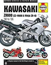 Kawasaki ZX600 (ZZ-R600 & Ninja ZX-6) '90 to '06 (Haynes Service & Repair Manual)