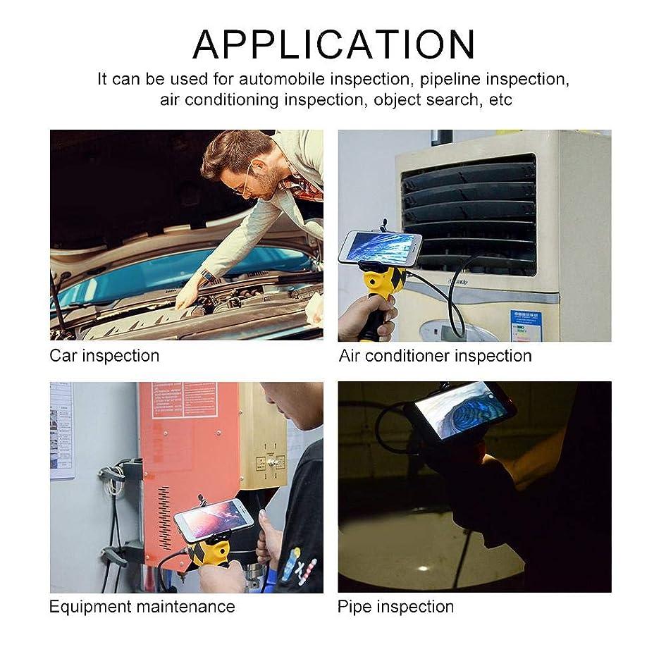 企業化学労働者内視鏡カメラ、inskam115 WiFi 6個のLEDを備えたWiFiワイヤレス多機能ハンドヘルド産業用ホーム内視鏡(1メートルの蛇管)