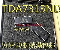 1pcs / lot 100%新規およびオリジナルTDA7313 TDA7313D TDA7313ND SOP-28在庫あり