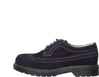 NeroGiardini A734430M Zapatos De Cordones Teens Chico De Ante