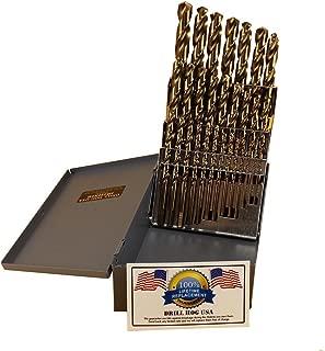 Drill Hog 29 Pc Cobalt Drill Bit Set M42 Drills Drill Hog