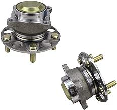 Bodeman - Pair (2) Rear Wheel Hub and Bearing Assembly for 2013 2014 2015 Honda Accord / 2015 2016 2017 Acura TLX