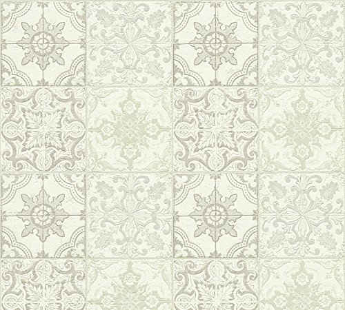 A.S. Création Tapete Simply Decor 10,05 m x 0,53 m beige creme weiß Made in Germany 300423 30042-3