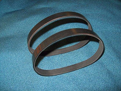 2 Motor Drive Belts for ProForm 285T Treadmill 6PJ508