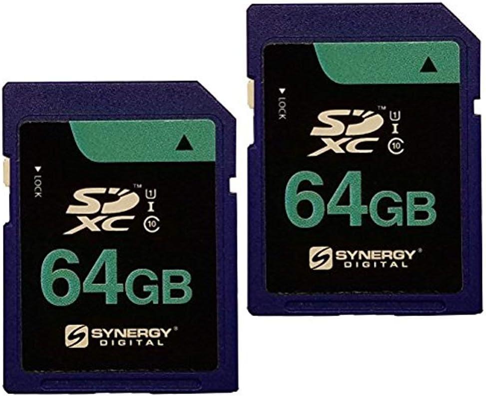 Long-awaited Panasonic HC-VX870K Camcorder Memory 55% OFF Card Secure 64GB Digital 2X