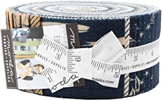 Janet Clare Ebb and Flow Jelly Roll 40 2.5-inch Strips Moda Fabrics 1480JR