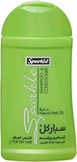 Sparkle Shampoo And Conditioner With Mink Oil For Dry Hair, 100 Ml