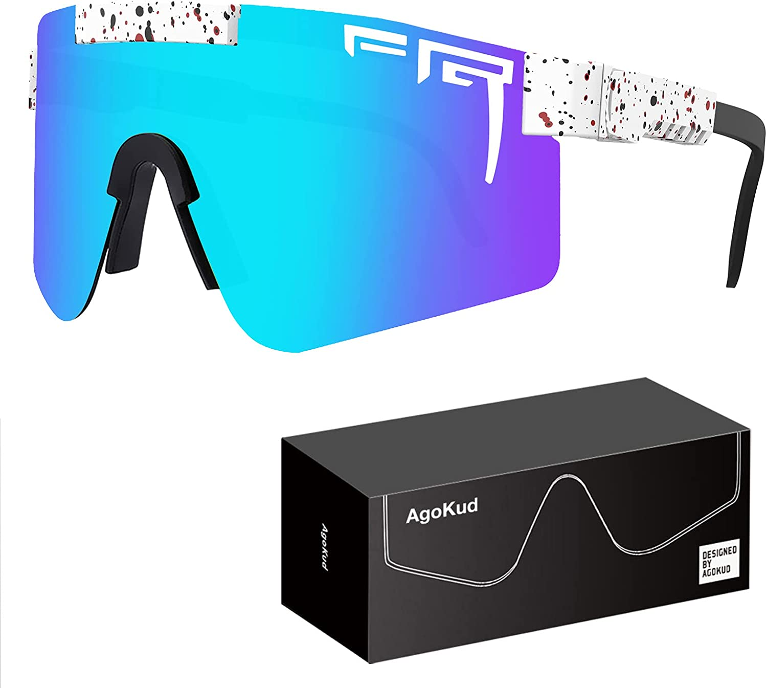 AgoKud Polarized Sunglasses OFFer Cheap super special price Outdoor Eyewear Cycling UV400 Adjus