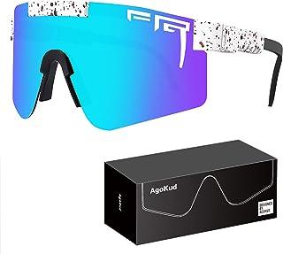 AgoKud Polarized Sunglasses,UV400 Adjustable Temples Eyewear for Men and Women