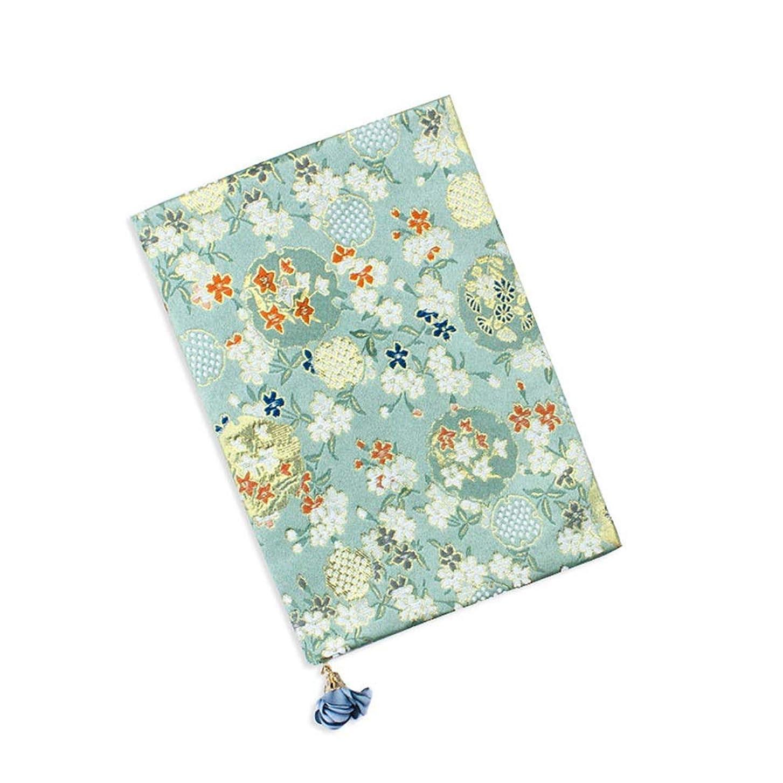 Laladuba ノートブック日記帳、手作り布ノート、文学と若者、学生を送るために教師を送る、創造的な贈り物 品質保証 (Size : A6)