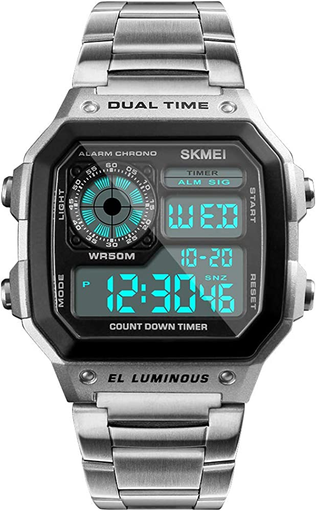 SKMEI Some reservation Wrist Watch for Men with Sports unisex Digital Waterproof