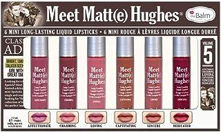 the balm meet matte hughes vol. 5(6mini long-lasting liquid lipsticks)